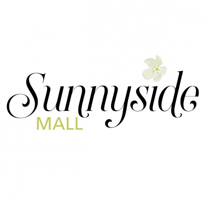 Sunnyside Mall logo by mblem graphic design Kate Macintosh Graphic Designer from Halifax NS